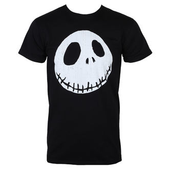t-shirt film uomo Nightmare Before Christmas - CRACKED FACE - PLASTIC HEAD, PLASTIC HEAD