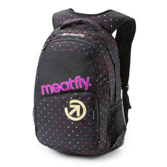 zaino MEATFLY - Exile - G Rainbow Dot Black, MEATFLY