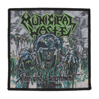 toppa MUNICIPAL WASTE - SLIME AND PUNISHMENT - RAZAMATAZ, RAZAMATAZ, Municipal Waste
