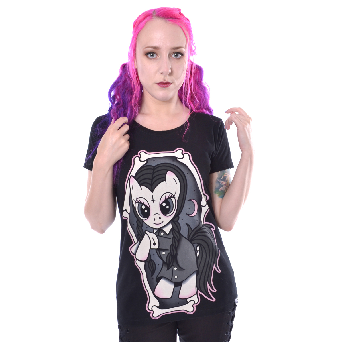 t-shirt donna - WEDNESDAY PONY - CUPCAKE CULT